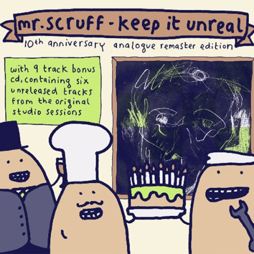 Keep It Unreal (10th Anniversary Analogue Remaster Edition) - Mr. Scruff