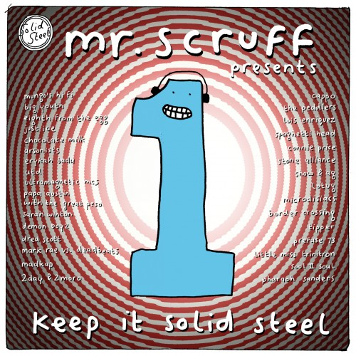 Mr. Scruff presents Keep it Solid Steel - Various Artists